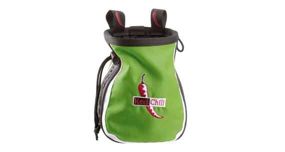Red Chili Logo Chalkbag grøn